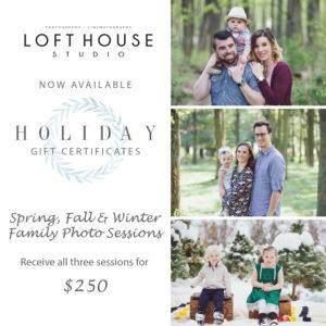 3 Season Family Photography