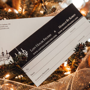 3 Season Family Photography Gift Certificate
